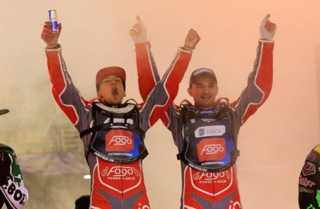 Piotr Pawlicki oraz Bartosz Zmarzlik w świetnym stylu wygrali w Toruniu turniej Speedway Best Pairs Cup