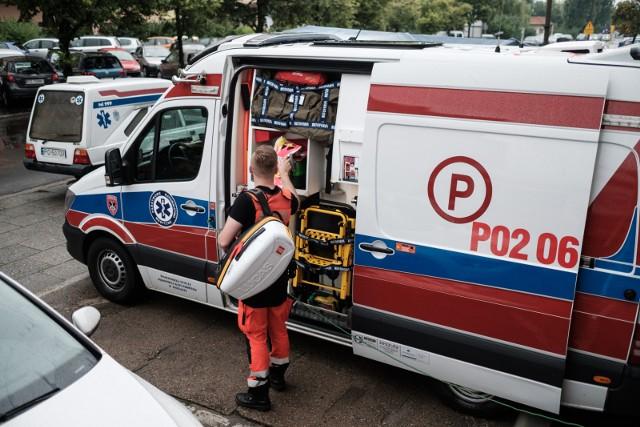 Protest ratowników medycznych. Z protestującymi ma spotkać się wiceminister zdrowia Waldemar Kraska