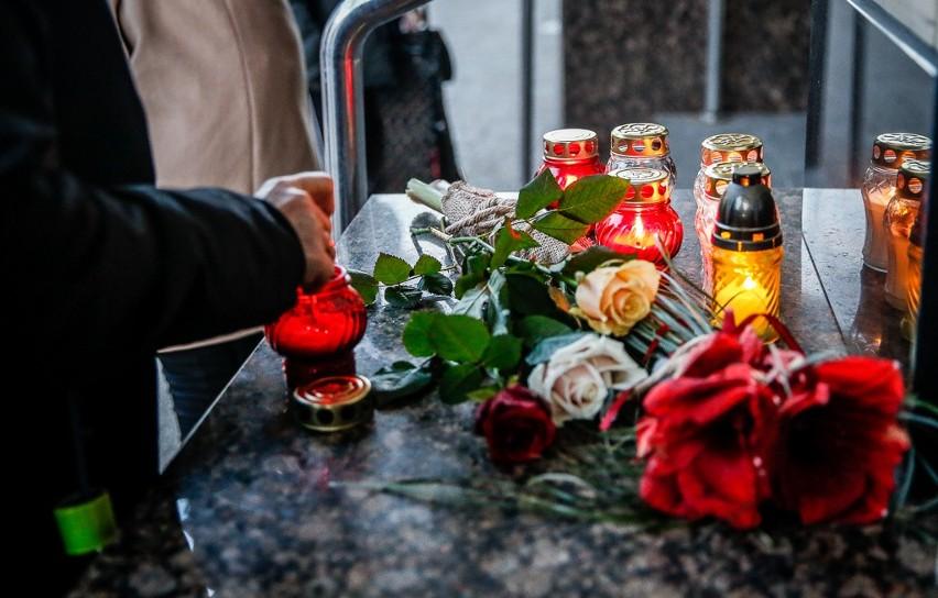 Gdańsk w żałobie po śmierci prezydenta Gdańska Pawła...