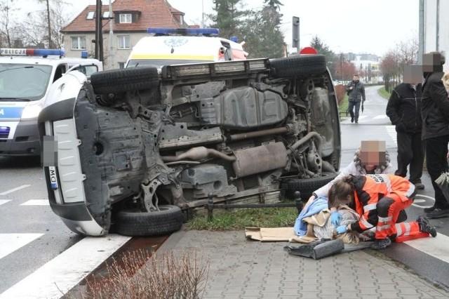 Wypadek na al. Piastów, 02.12.2015