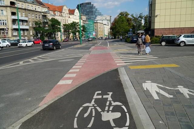 W tym roku powstanie kolejny odcinek drogi rowerowej przy ul. Grunwaldzkiej, od ul. Jugosłowiańskiej do ronda Skubiszewskiego