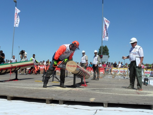 Śląskie Mistrzostwa Drwali 2013 w Radzionkowie