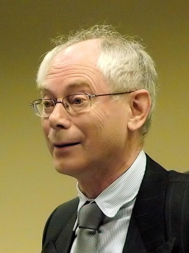 Herman Van Rompuy - prezydent Unii Europejskiej