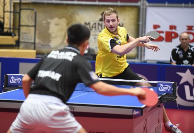 Pavel Sirucek był najbliżej pokonania zawodnika z Grodziska w tym meczu.