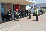 Alarm bombowy w szpitalu przy ul. Borowskiej [ZDJĘCIA]
