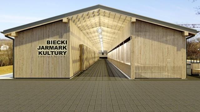 Budowa Bieckiego Jarmarku Kultury kosztowała będzie ponad sześć milionów złotych, z czego dofinansowanie z Regionalnego Programu Operacyjnego oraz z Rządowego Funduszu Inwestycji Lokalnych na wynosi ponad 3,7 mln złotych