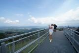 Krynica-Zdrój. Taras widokowy na Jaworzynie Krynickiej już otwarty. To kolejna atrakcja turystyczna w regionie [ZDJĘCIA] 22.08.2021