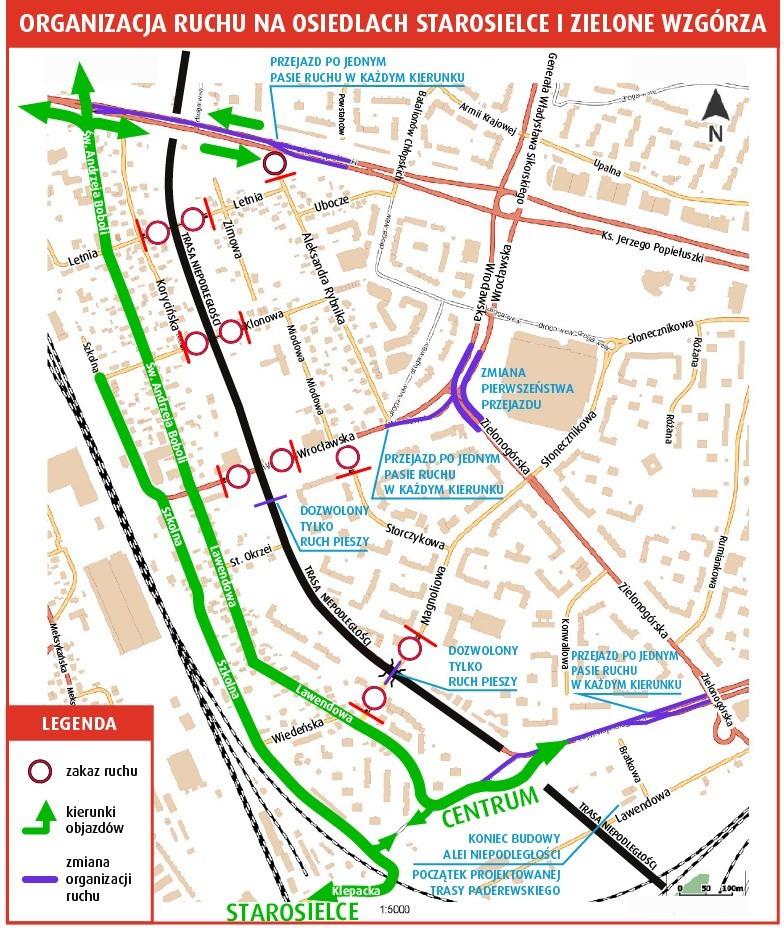 Trasa Niepodległości będzie zrealizowana do końca 2018 r.