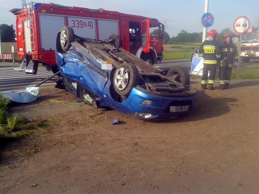 Wypadek na wschodniej obwodnicy Wrocławia