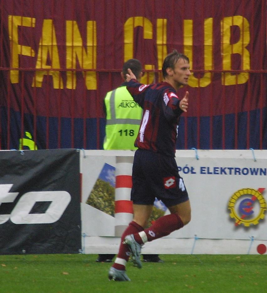 Jedynego gola dla Pogoni zdobył w Oldenburgu Tomasz Parzy.
