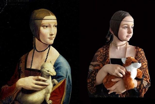 Młodzi mieszkańcy Ciasnej odtworzyli znane dzieła sztuki. Wyszło im to naprawdę świetnie! Zobacz kolejne zdjęcia. Przesuwaj zdjęcia w prawo - naciśnij strzałkę lub przycisk NASTĘPNE