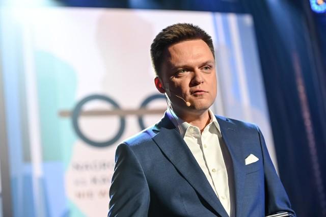 """Szymon Hołownia pisze do prezydenta Andrzeja Dudy ws. sądów: """"Proszę stanąć na wysokości zadania"""""""