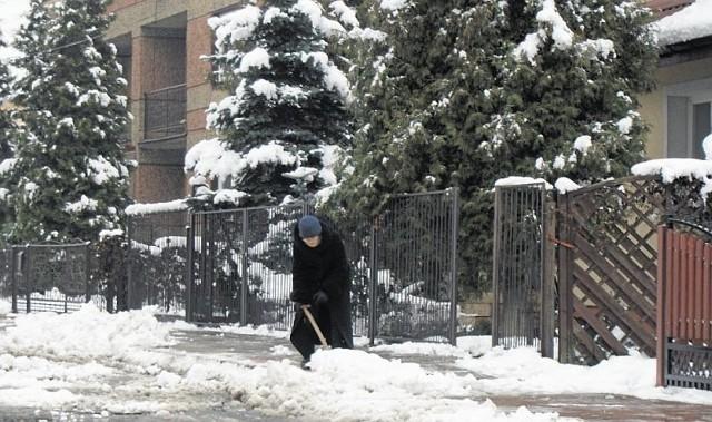 Zima 2014 zaskoczyła mieszkańców Sokółki