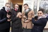 Łódzkie siatkarki ŁKS Commercecon Łódź kochają zwierzęta i wspierają łódzkie schronisko dla bezdomnych zwierząt przy ul. Marmurowej