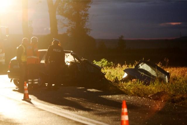 Tragiczny wypadek w Głuszycy Górnej na Dolnym Śląsku. Zdjęcie ilustracyjne