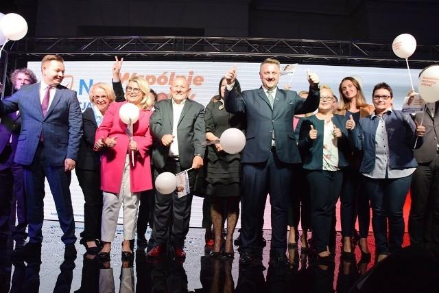 Bielsko-Biała: konwencja wyborcza Jarosława Klimaszewskiego na dziedzińcu Zamku