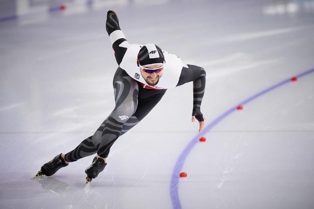 Artur Nogal zaprezentował się najlepiej z reprezentantów Polski podczas wielobojowych mistrzostw Europy w Heerenveen