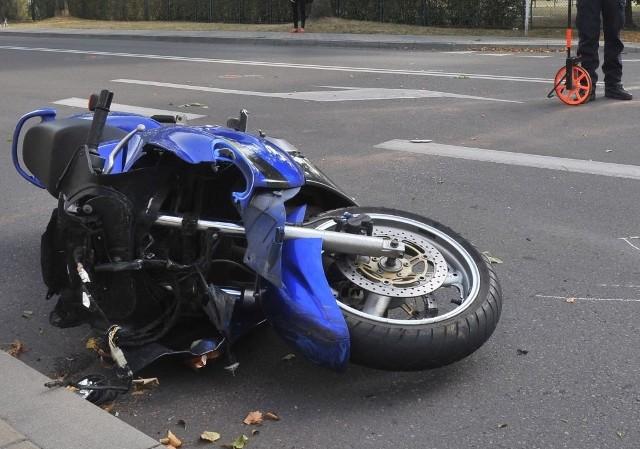 Wypadek śmiertelny motocyklisty w Koszarówce. Nie żyje 29-latek / Zdjęcie ilustracyjne