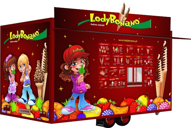 Lodobus – czyli nowy pomysł pod marką Lody Bonano