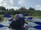 Pielgrzymka kajakowa rzeką Supraśl na trasie Gródek - Supraśl. Na święto Supraskiej Ikony Bogurodzicy (zdjęcia)