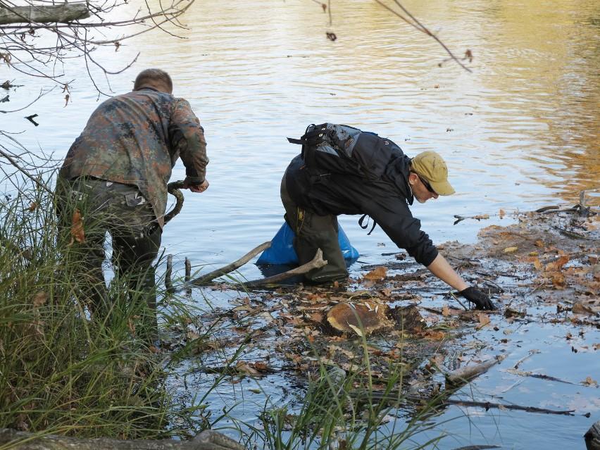 Wędkarze wyłowili z Warty 20 ton śniętych ryb.