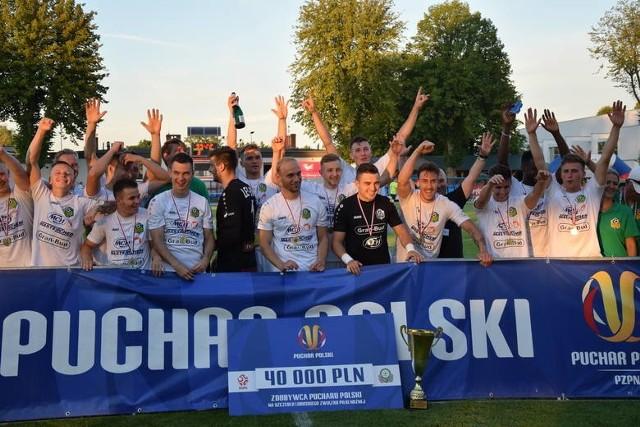 W 2020 roku po regionalny Fortuna Puchar Polski sięgnęli piłkarze Lechii Zielona Góra.