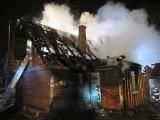 Tragiczny pożar w Złatnej k. Żywca. W płomieniach zginęło małżeństwo ZDJĘCIA