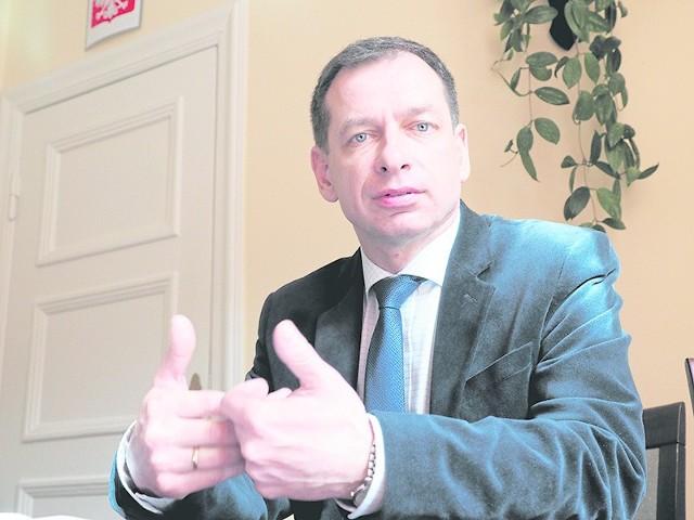 Tomasz Hynda, starosta białogardzki: - Nowego prezesa chcemy wybrać w ciągu najbliższych dni