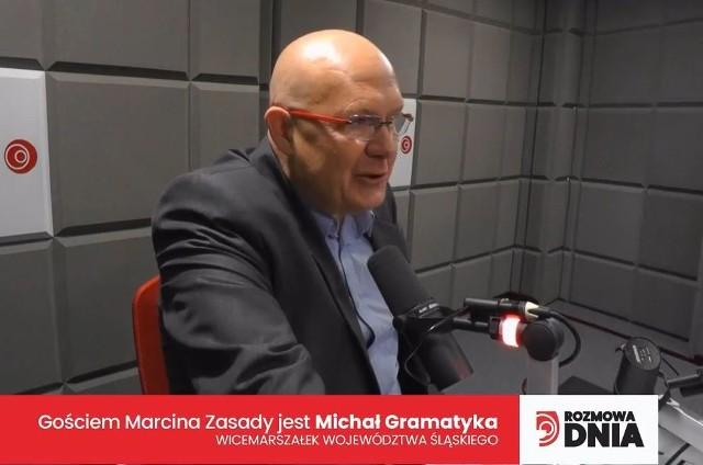 Wicemarszałek województwa śląskiego Michał Gramatyka