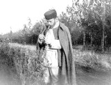 Pożegnanie cara Mikołaja II z Białowieżą