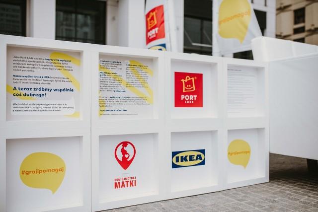 Wielkie meble na Piotrkowskiej to zapowiedź wielkiej zabawy i wielkiej pomocy dla Domu Samotnej Matki w Łodzi.