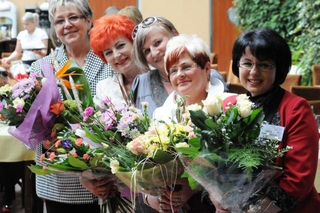 Nasze laureatki: (od lewej) Irena Baran, Barbara Schroeder, Genowefa Fietz-Przybyłka, Zdzisława Walczak i Izabela Kumor-Pilarczyk