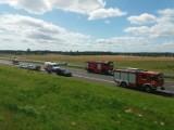 Wypadek na A1 Warlubie-Kopytkowo. Karambol siedmiu samochodów, trasa jest zablokowana [ZDJĘCIA]