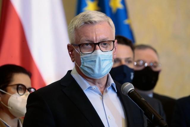 Jacek Jaśkowiak zaszczepi się w najbliższy poniedziałek.