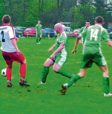 Gracze Wilgi (w zielonych strojach) przegrali kolejny mecz FOT. ARCHIWUM