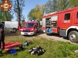 Wyłowiono zwłoki mężczyzny ze stawu w powiecie poznańskim