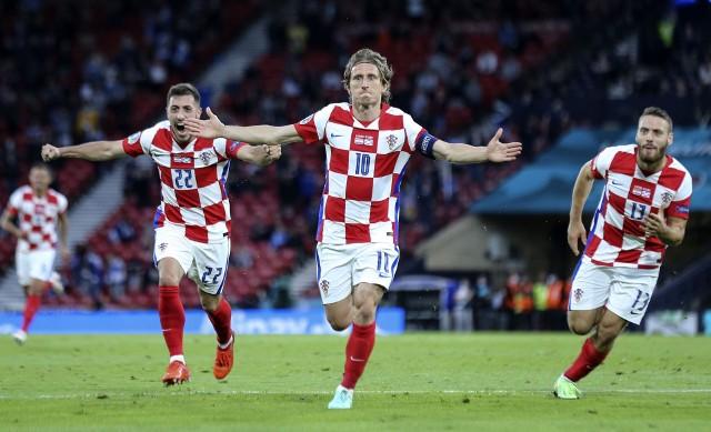 Chorwaci dopiero w trzecim meczu, pokonując Szkocję, zapewnili sobie awans do fazy pucharowej