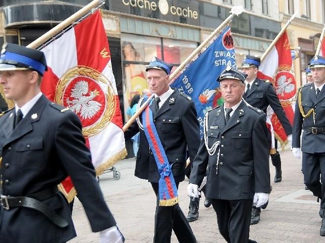 Strażacy z całego regionu świętowali w Toruniu