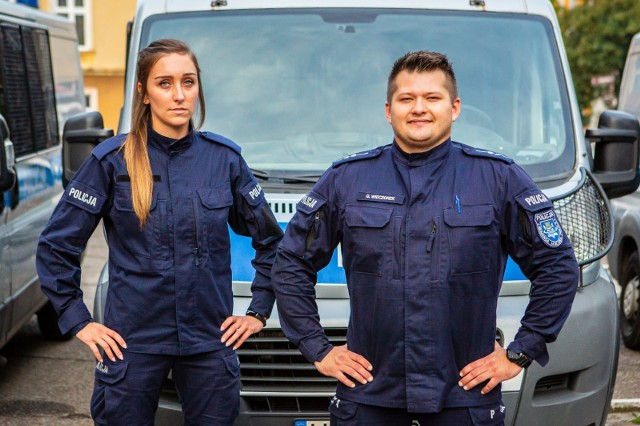 Post. Paulina Kukułka i asp. Grzegorz Wieczorek spisali się na medal
