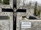 Gorzów. Na cmentarzu znów pojawiły się kartki. Mają przypominać o zaległych opłatach