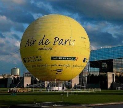 Informacja o zanieczyszczeniu powietrza - widoczna poprzez właściwy kolor balonu - sprawdza się już w Paryżu. Czy tak samo będzie w Krakowie? FOT. WIKIPEIDA