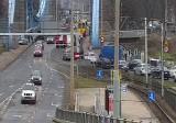 Paraliż w pobliżu mostu Grunwaldzkiego po wypadku. Zmiany w kursowaniu MPK