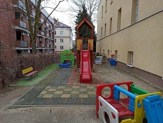 Istniejący plac zabaw przy ul. Spokojnej