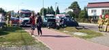 Wypadek w Gorzycach. Zderzenie dwóch samochodów na ulicy Przybyłów