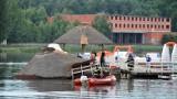 Kto odpowie za zniszczenie molo w Siemiatyczach? Prokuratura wskazuje autorów projektu i wykonawcę. Policyjne dzieci bezkarne (ZDJĘCIA)