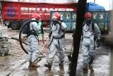 Niebezpieczna substancja na złomowisku przy Gądowiance. Trwa akcja straży (ZDJĘCIA)