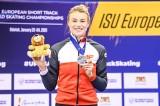 Natalia Maliszewska wicemistrzynią Europy w short tracku
