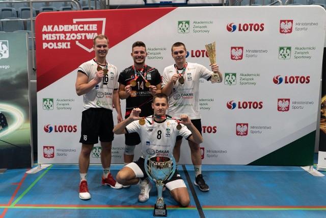 Reprezentanci Uniwersytetu Rzeszowskiego odnieśli duży sukces zdobywając złote medale mistrzostw Polski