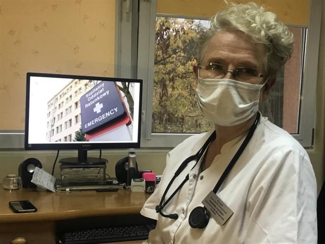 Marzenna Plucińska, kierownik Działu Chorób Wewnętrznych w Wielospecjalistycznym Szpitalu SP ZOZ w Nowej Soli, przewodnicząca Okręgowej Izby Lekarskiej w Zielonej Górze.