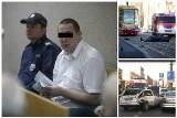 Wypadek na Piotrkowskiej. Pijany motorniczy zabił 3 osoby. W procesie zeznawała jego była żona